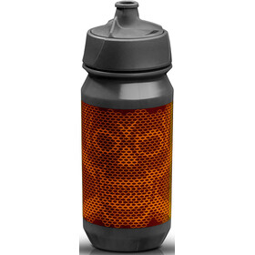 rie:sel design bot:tle 500ml, skull honeycomb orange